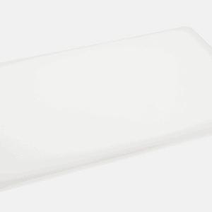 Chopping Board 400x250x13mm WHITE