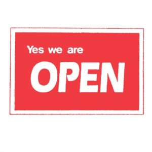 Sign 'Open/Closed'