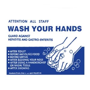Sign 'Wash Your Hands'