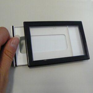 Capsule Ticket 54x84mm BLACK