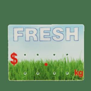 Fresh' Promotional Ticket 65x90mm