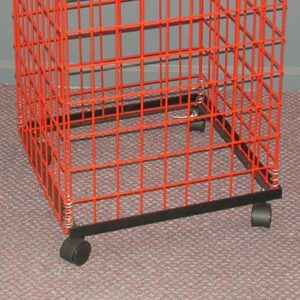 Collapsible Basket Mobile Base BLACK