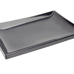 Asian Platter 395x265x20mm BLACK