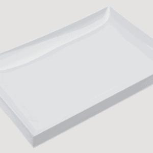 Asian Platter 260x180x20mm WHITE