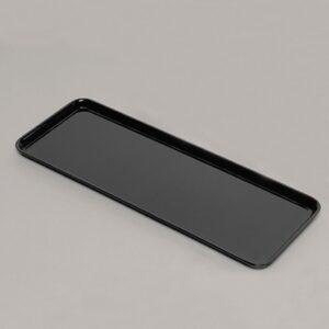 Platter Rectangle 180x500x20mm BLACK