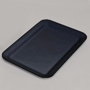 Platter Rectangle  445x305x30mm BLACK