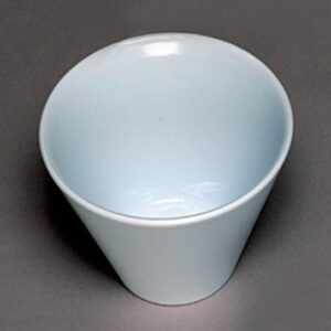 Round V-shape Bowl 160x110mm WHITE