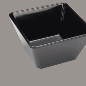 Square Bowl 130x130x70mm BLACK