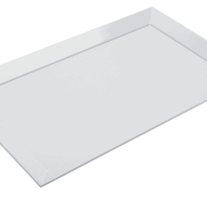 Square Corner Platter 480x300mm WHITE