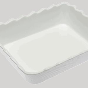 Scallop 310X250X75mm WHITE