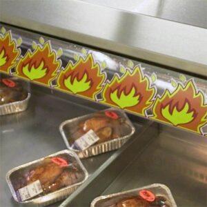 Cling Border - Hot Food 80x800mm