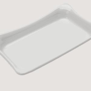 Insert for 1/4 Fleur Crock  T4414 270x160x45mm WHITE