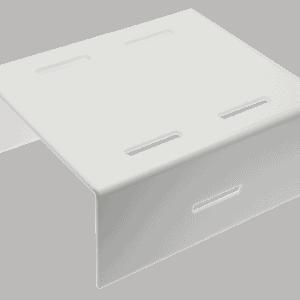 Step Riser 300x250x120mm WHITE
