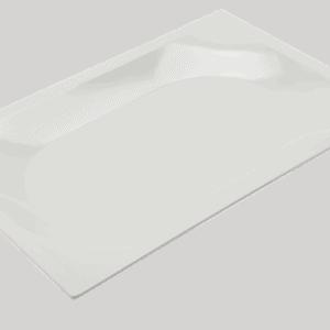 Zest Tray Standard 395x265x30mm WHITE