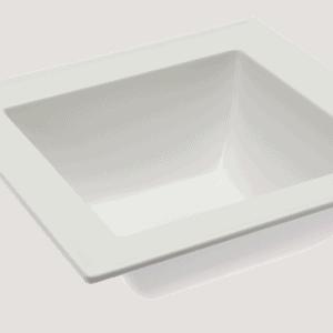 Dover Bowl 1.2L 224x224x80mm WHITE