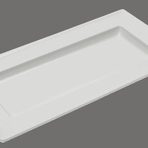 Dover Rect Tray Medium 375x187mm WHITE
