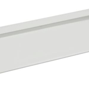 Dover Rect Tray Large 620x250x30mm WHITE
