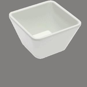 Square Bowl 100x100x60mm WHITE