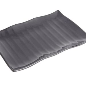 Platter Wavy 300x210x30mm BLACK