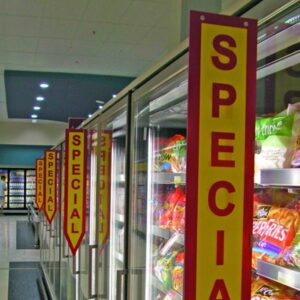 """Printed Aisle Flag """"""""Special"""""""""""