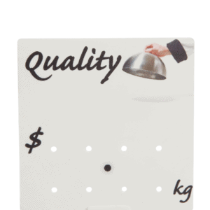 Promotional Ticket 'Quality'  90x90mm