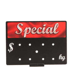 Small Promotional Ticket 'Special'  65x90mm