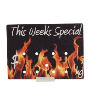 Promotional Ticket 'This Week's Special' 65x90mm