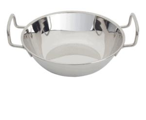 Balti Round Stainless Steel 180mm