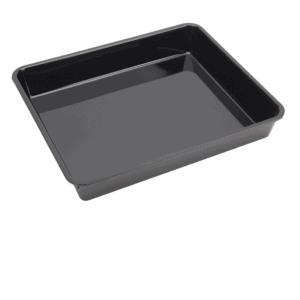 P/carb Tray Half High 360x304x56mm