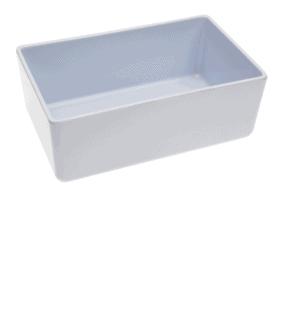Chunky Crock 162x260x100mm 3.2L POLAR WHITE