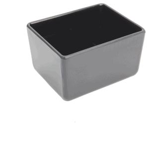 Chunky Crock 162x130x100mm 1.5L BLACK