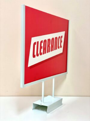 Sign Holder KIT A3  landscape with acrylic sleeve